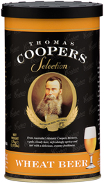 Get 20% off the Coopers Wheat Beer Kit