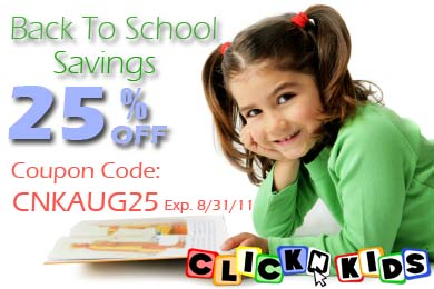 Save 25% of ClickN READ Phonics and ClickN SPELL
