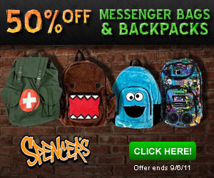 50% OFF Messenger Bags and Backpacks