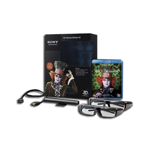 Get $310 Off Sony 3DBNDL/Alice Alice in Wonderland 3D Deluxe Starter Kit