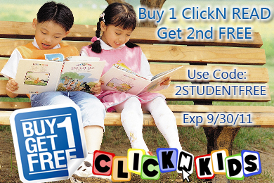 Buy 1 ClickN READ Student Get the 2nd FREE