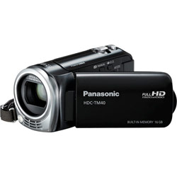 $210 Off Panasonic's HDC-TM40K Camcorder