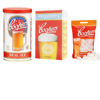 20% off the Coopers Complete Real Ale Beer Package