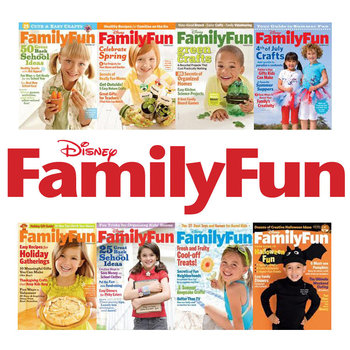 Save $6 on Disney Family Fun Magazine Subscription
