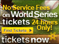 No Service Fees on World Series Tickets
