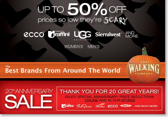 50% off a great selection of boots