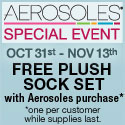 FREE plush sock set with purchase of any Aerosoles or A2 by Aerosoles shoes