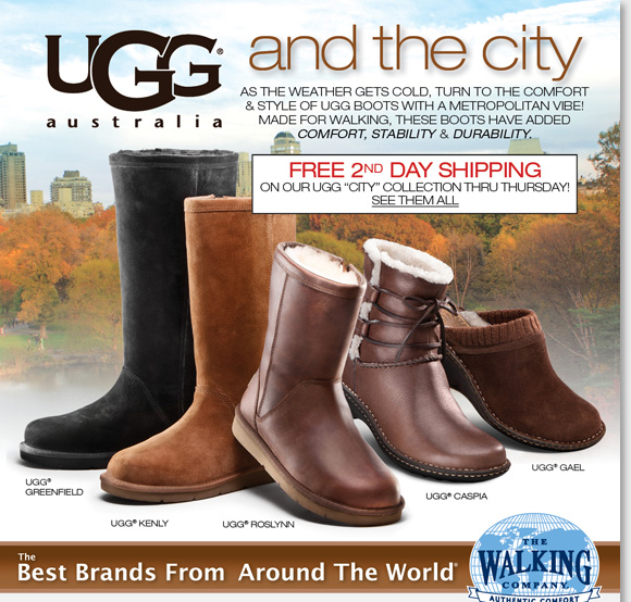 Free Shipping On UGG 'City' Collection
