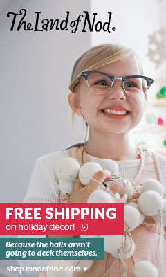 Free shipping on select holiday decor, stocking stuffers and gifts