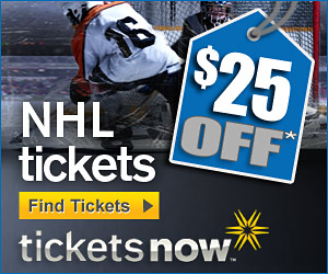 $25 Off NHL Tickets