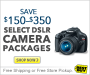 $150-$350 Off Select DSLR Camera Packages