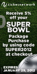 5% Off Superbowl package purchase