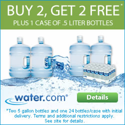 Buy Two Get Two FREE 5-Gallon Bottles