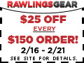 $25 off every $150 order