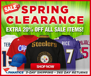 Fanatics Spring Sale - Save an Extra 20%