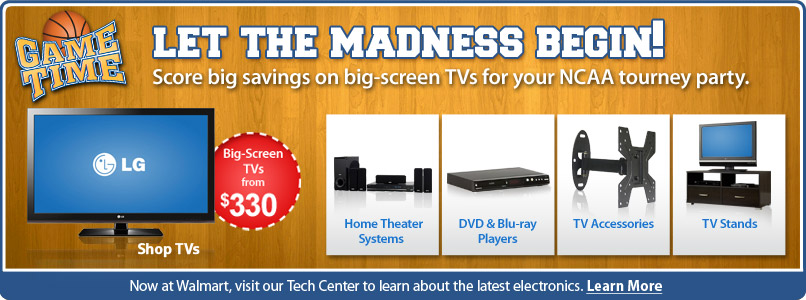 Score Big Savings for March Madness Only at Walmart