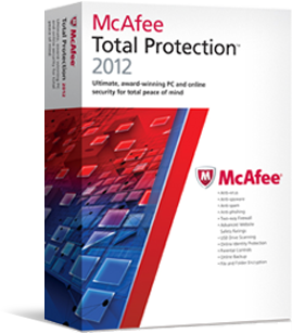 50% OFF! McAfee Total Protection 2012