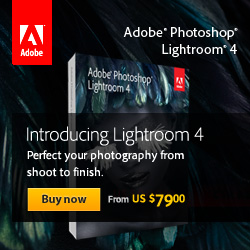 Free Shipping on the NEW Photoshop Lightroom 4