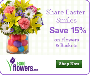 Save 15% on Easter purchases