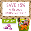 Save 15% on Easter