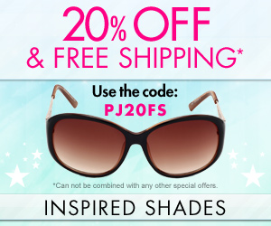 20% Off + Free Shipping on all orders