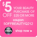 Save $5 off $25 on Beauty items
