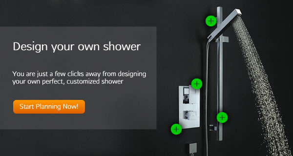 7.5% off Hudson Reed's design your own shower range