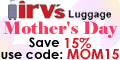Save 15% Off Luggage and more