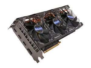 $30 Off Galaxy GeForce GTX 580 (Fermi) 1536MB 384-bit GDDR5 SLI Support Multi-Display Video Card
