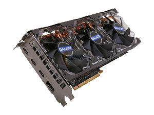 $30 Off Galaxy GeForce GTX 580 (Fermi) 1536MB 384-bit GDDR5 SLI Support Multi-Display Video Card