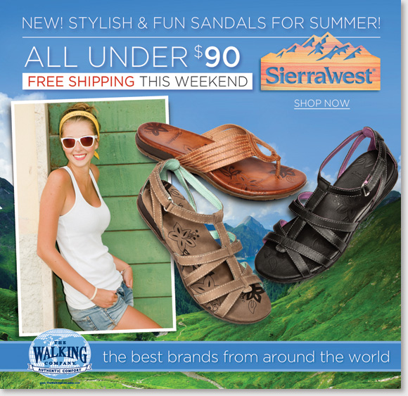 New Sandals Under $90, FREE Shipping