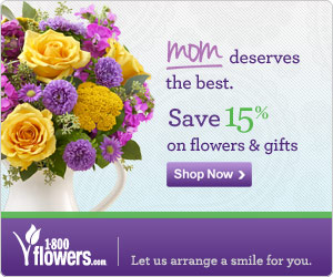Save 15% this Mother's Day