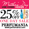 25% Off One Day Site Wide Sale For Mother's Day
