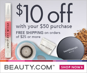 $10 off your $50 Beauty.com order