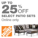 Save up to 25% on Select Patio Sets