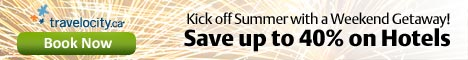 Save up to 40% on Summer Long Weekend Trips