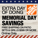 Free shipping on patio sets and grills $399 or more