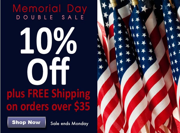 Save 10% Off + Get Free Shipping on all orders over $35