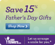 Save 15% on gifts