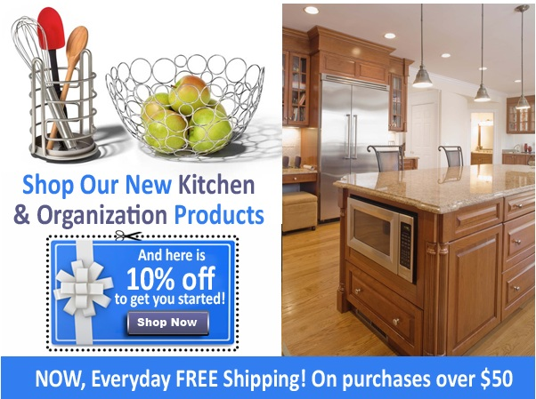 10% Off kitchen & Organization