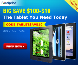 $10 OFF Tablet PCs