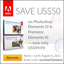 Save on $50 on Elements 10 Products