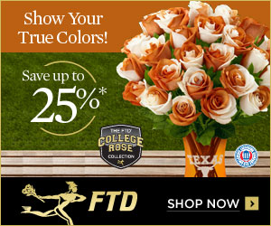 SAVE 15% and send your student or teacher support with BACK-TO-SCHOOL flowers, food treats or other gifts from FTD