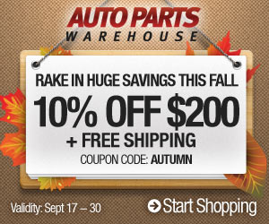 10% OFF for every $200+ Free Shipping