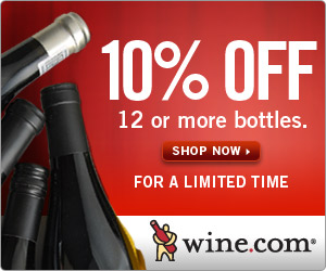 10% off 12 or more bottles