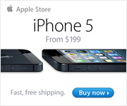 Introducing iPhone 5. From $199. Only at the Apple Online Store