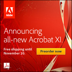 Free Shipping On Acrobat XI Standard