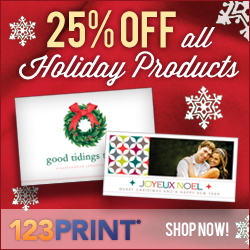 25% off all Holiday Products