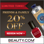 Friends and Family Event - Get 20% Off Your Beauty.com Order