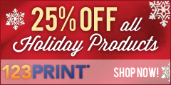 25% off holiday products